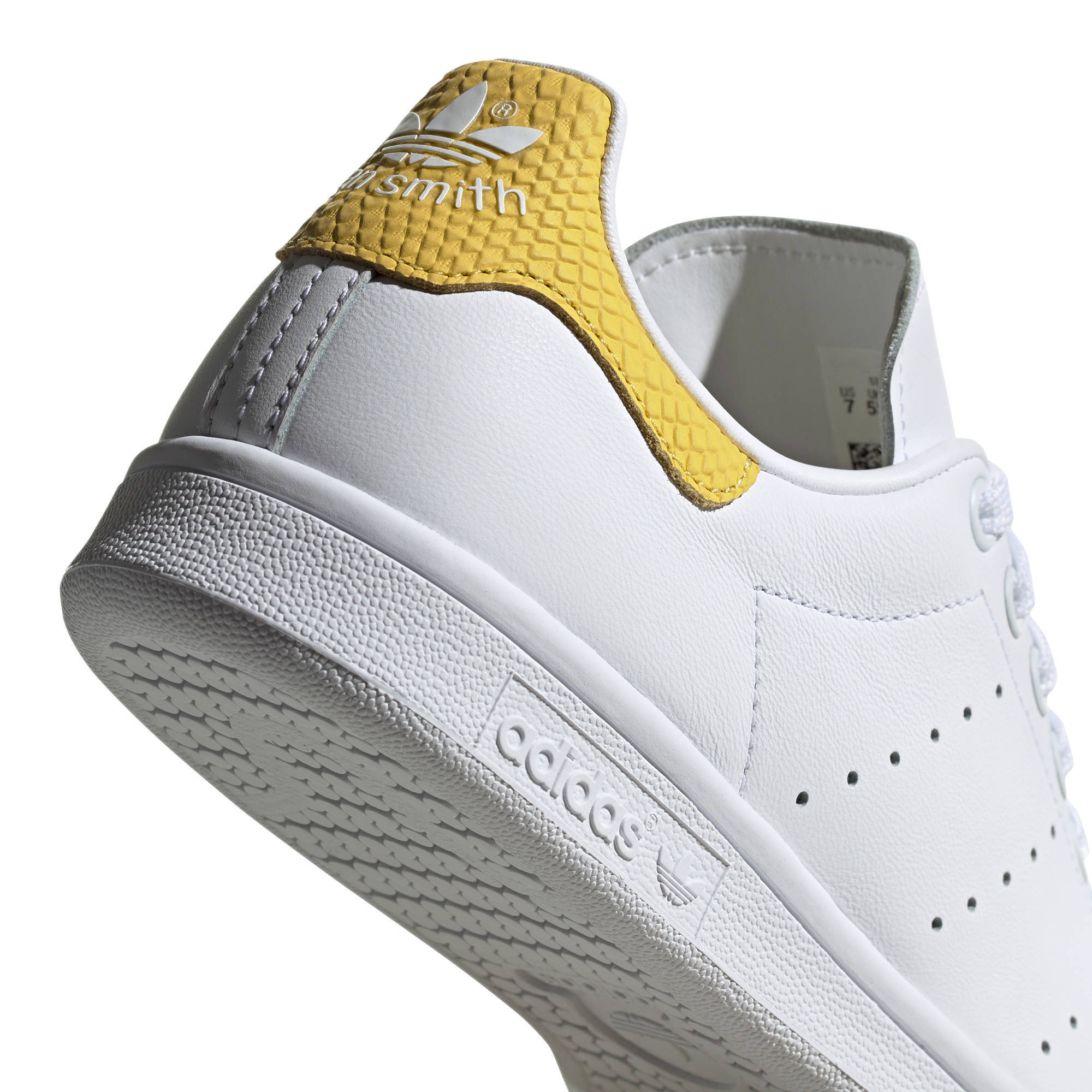 Stan Smith W sneakers wit/geel