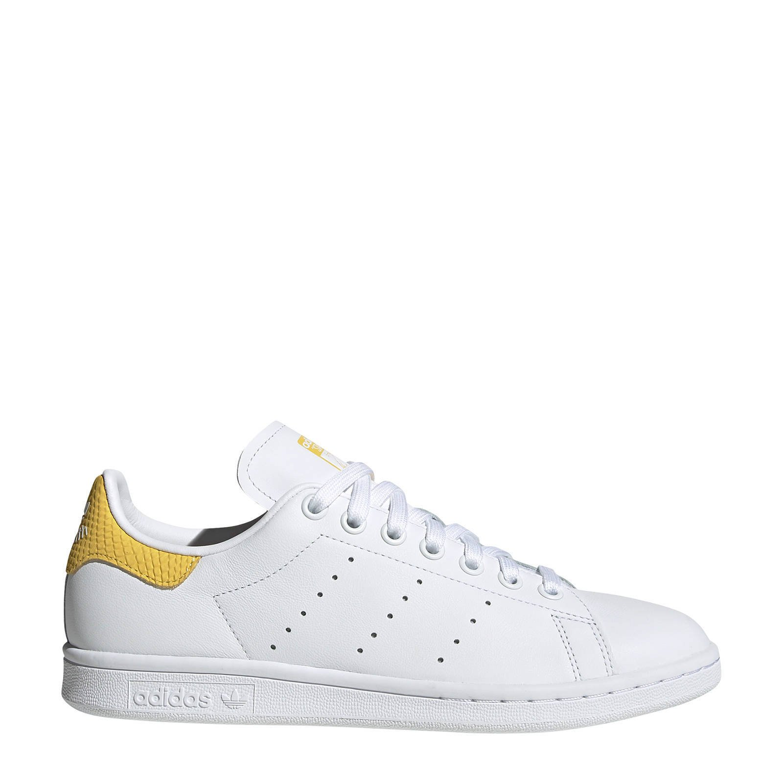 Stan Smith W sneakers wit/geel