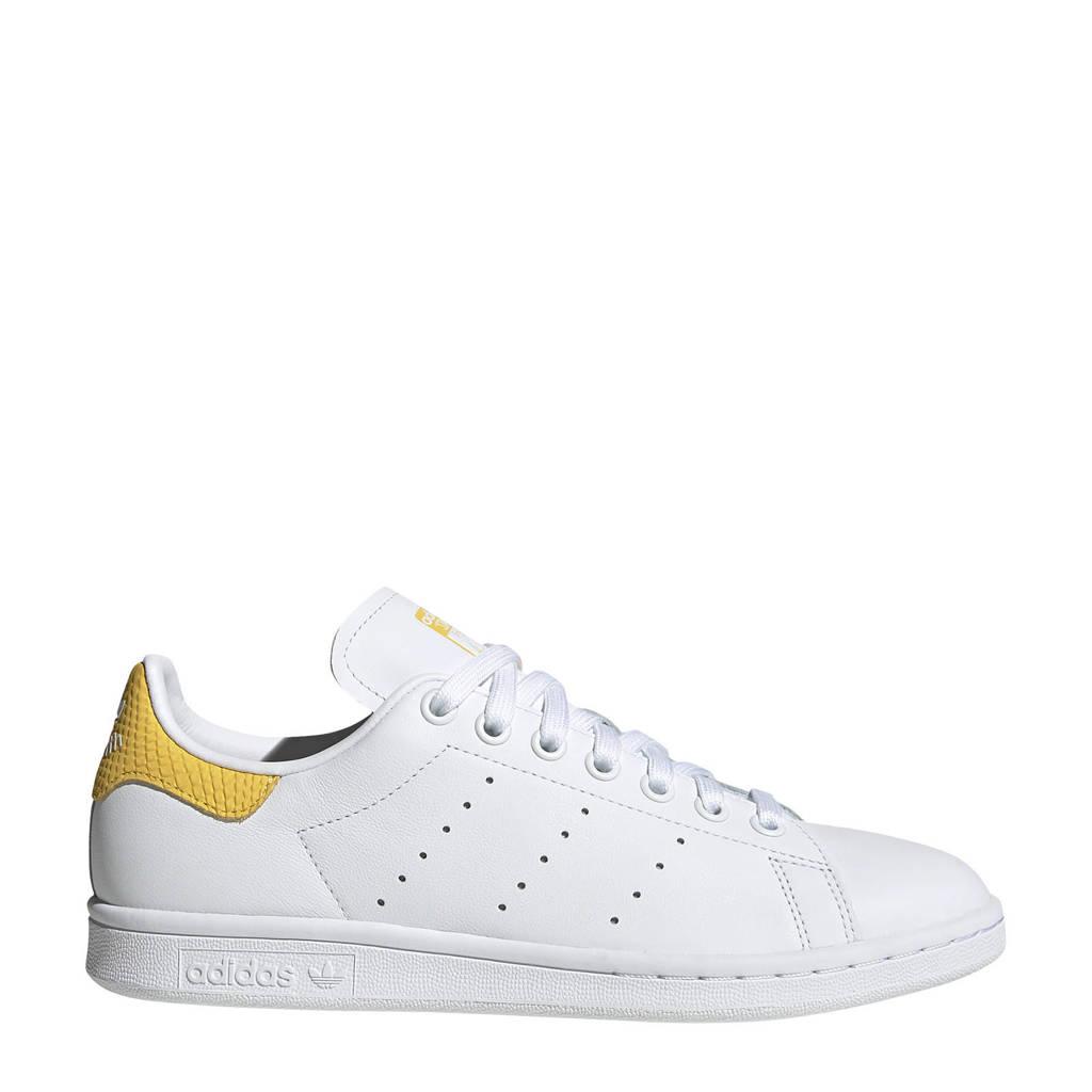 adidas Originals Stan Smith W  sneakers wit/geel, Wit/geel
