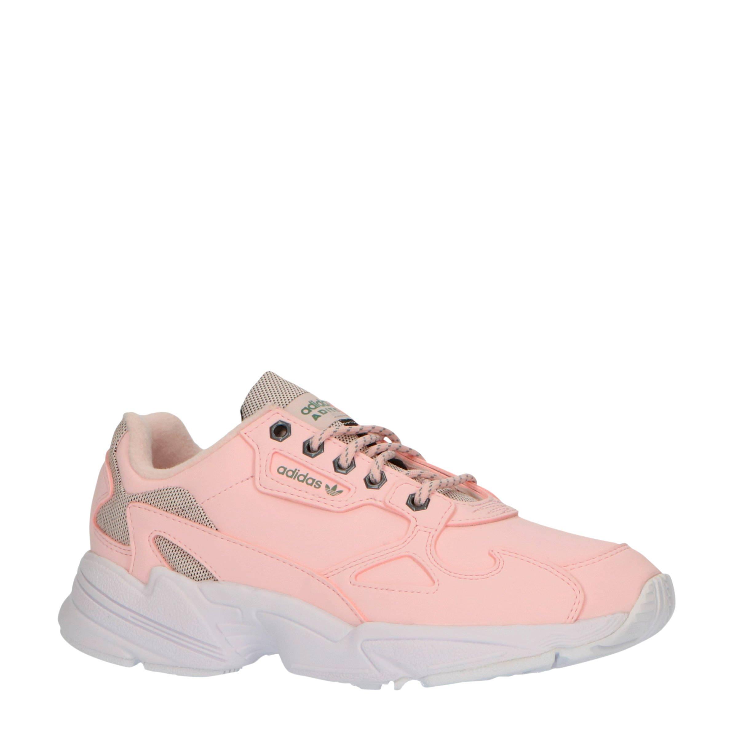 adidas Originals Falcon W sneakers roze | wehkamp