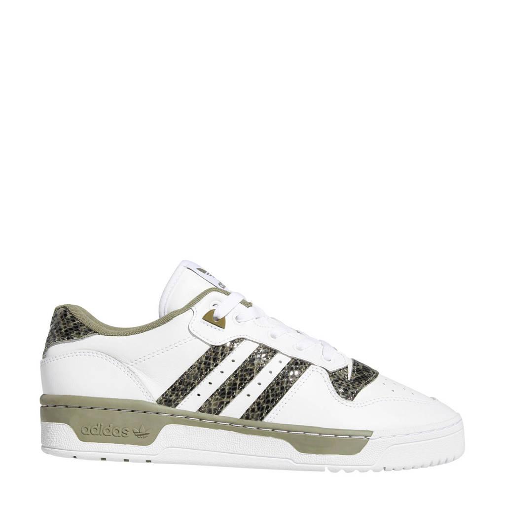 adidas Originals Rivalry Low  sneakers wit/kaki, Wit/kaki