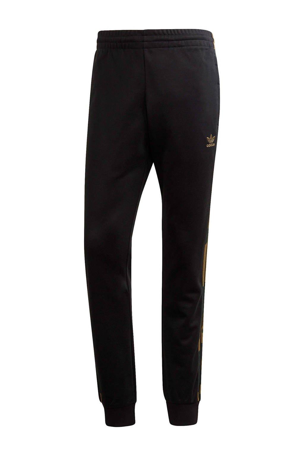 adidas Originals joggingbroek zwart, Zwart/bruin