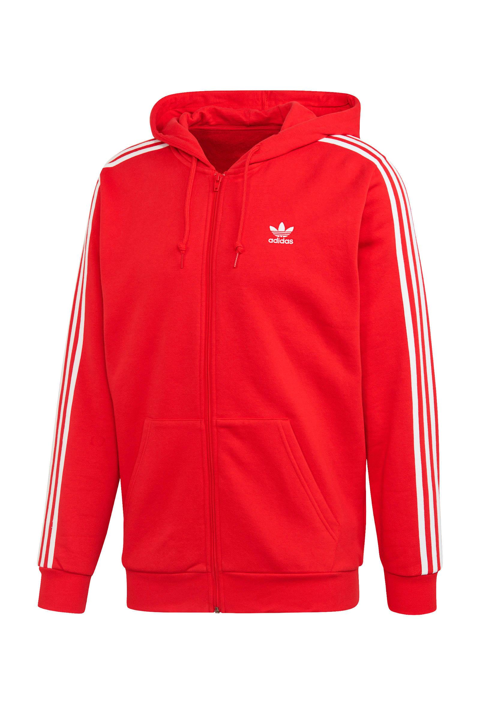 adidas Originals Adicolor vest rood | wehkamp