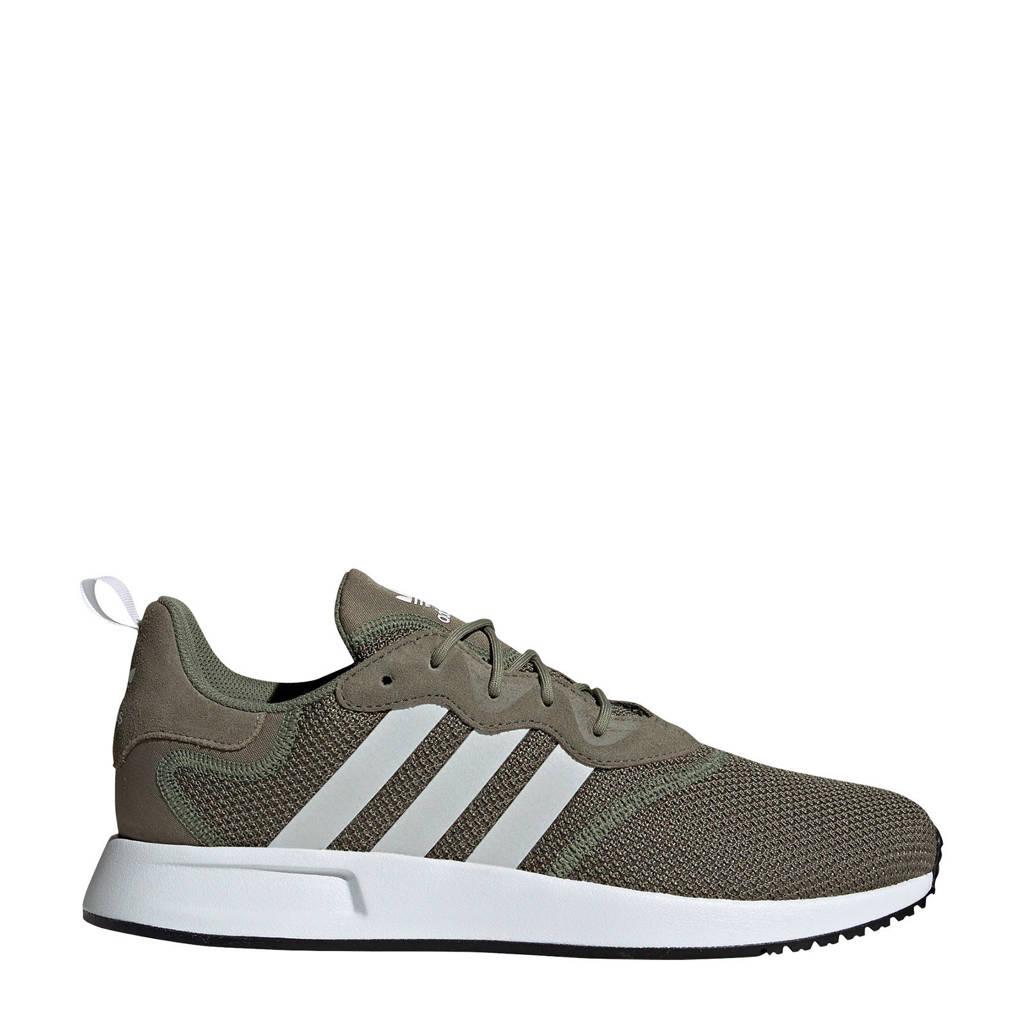 adidas Originals X_PLR S  sneakers wit/groen, Wit/groen