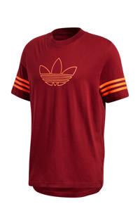 adidas Originals   T-shirt bordeauxrood, Bordeauxrood, Heren
