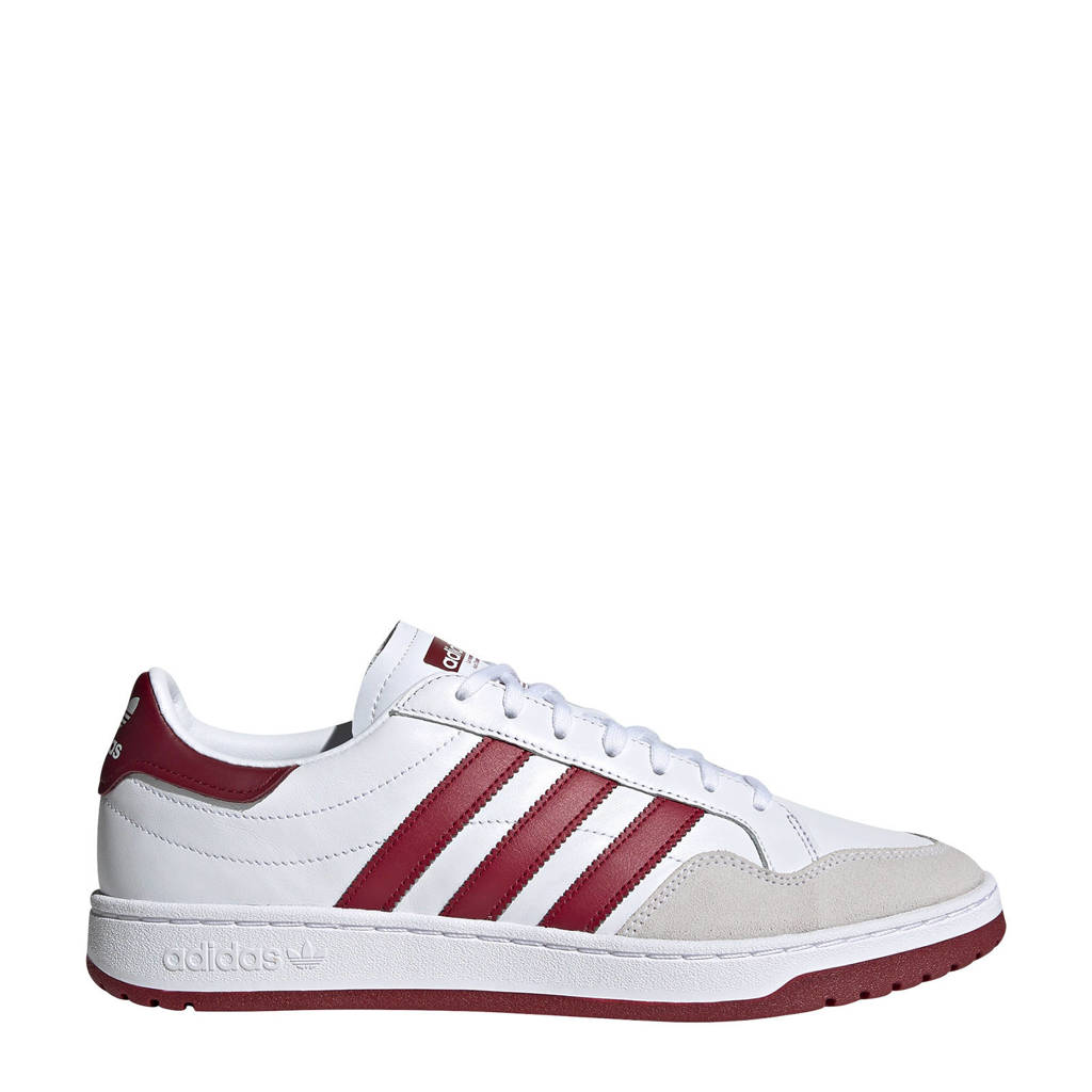 adidas Originals Team Court  sneakers wit/donkerrood, Wit/donkerrood