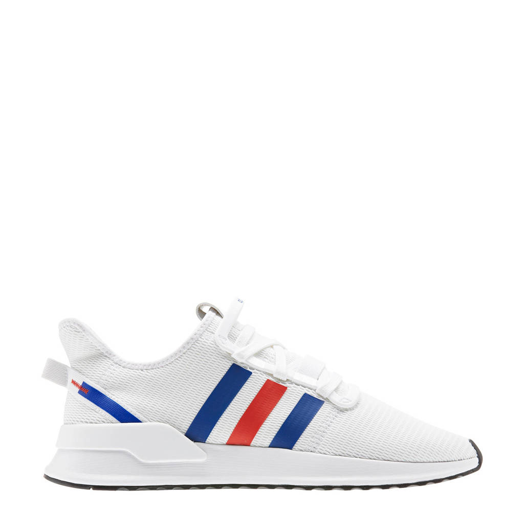 adidas Originals U_Path Run   sneakers wit/rood/kobaltblauw