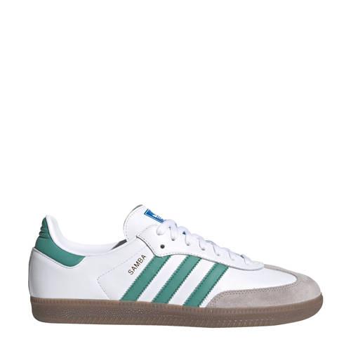 adidas Originals Samba OG sneakers wit/groen