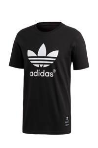 adidas Originals T-shirt zwart/wit, Zwart/wit