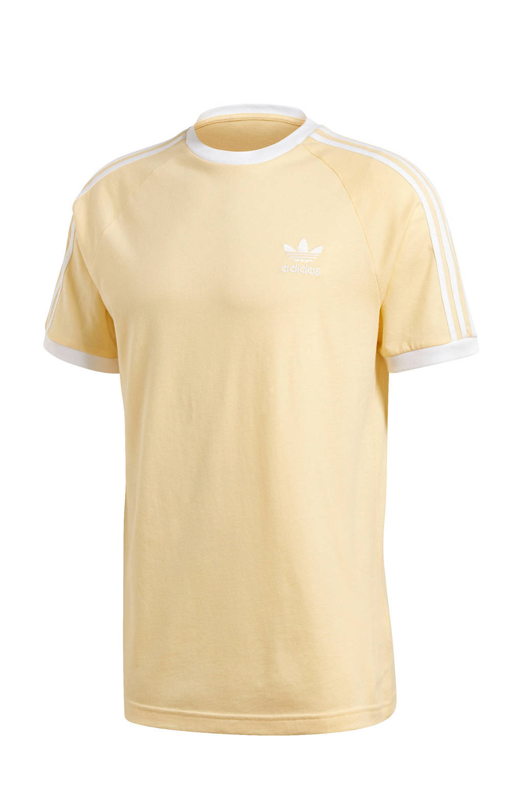 adidas Originals Adicolor T-shirt geel/wit, Geel