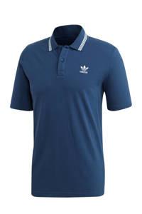 adidas Originals Adicolor polo blauw/wit, Blauw/wit