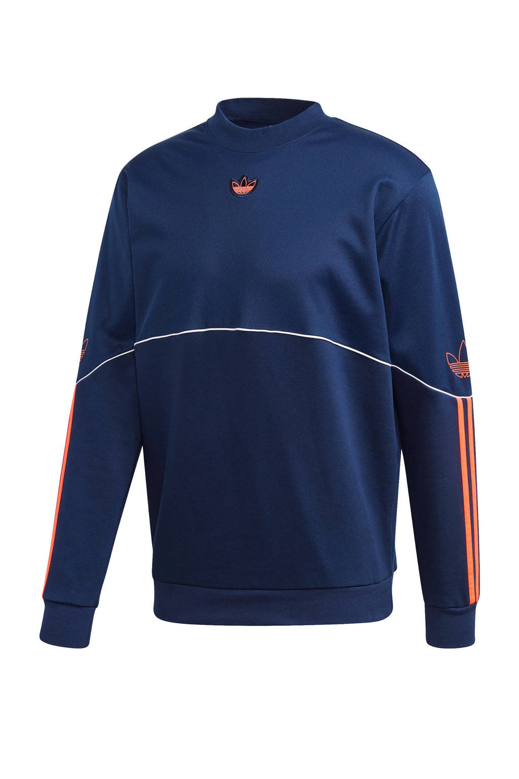 adidas Originals   sweater donkerblauw/oranje, Donkerblauw/oranje