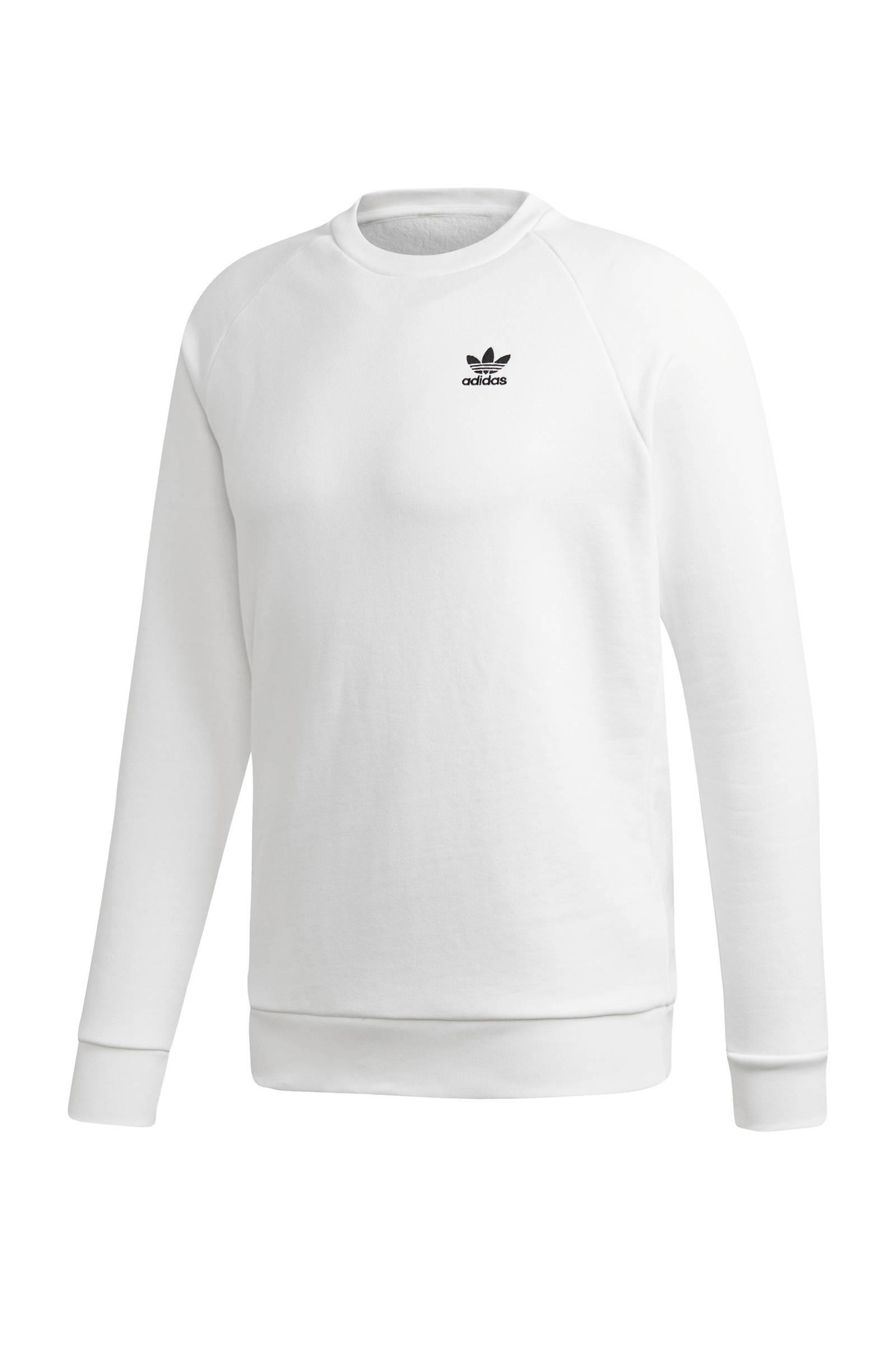 adidas Originals Adicolor sweater wit | wehkamp
