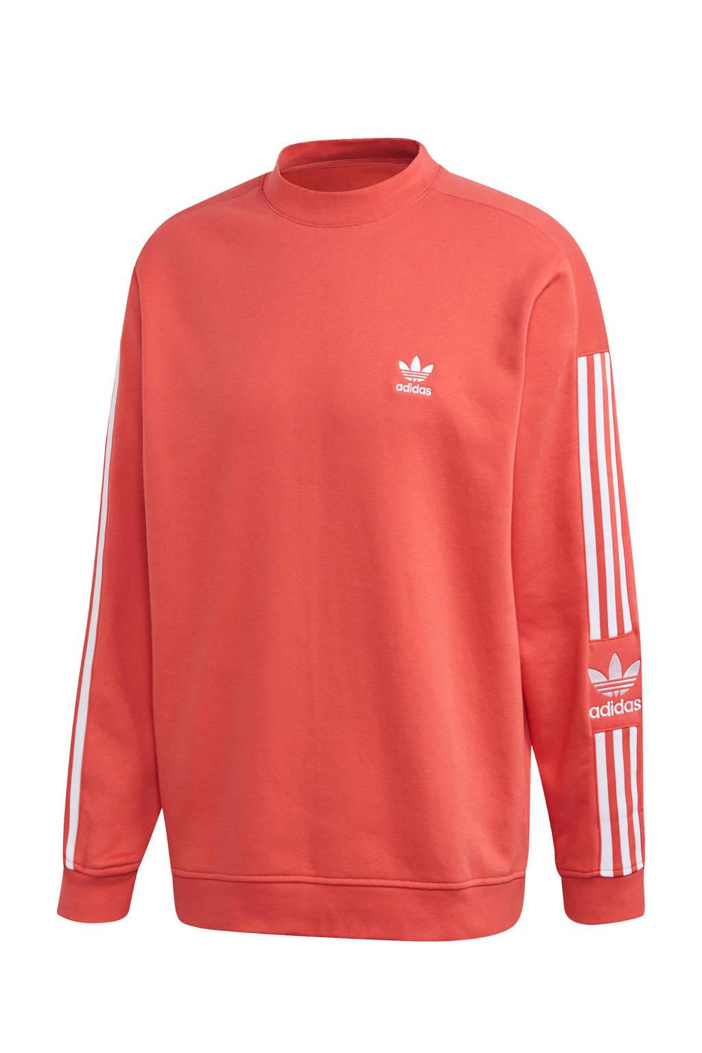 adidas Originals sweater koraalrood, Koraalrood