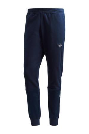 sportbroek donkerblauw/zilver