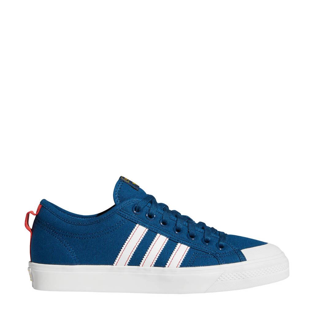 adidas Originals Nizza  sneakers donkerblauw/wit, Donkerblauw/wit