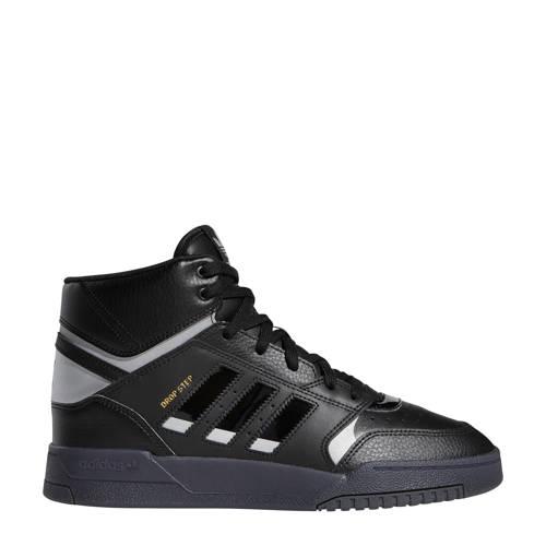 adidas originals Drop Step leren sneakers zwart-zilver