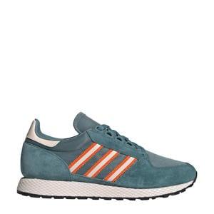 Forest Grove  sneakers petrol/oranje