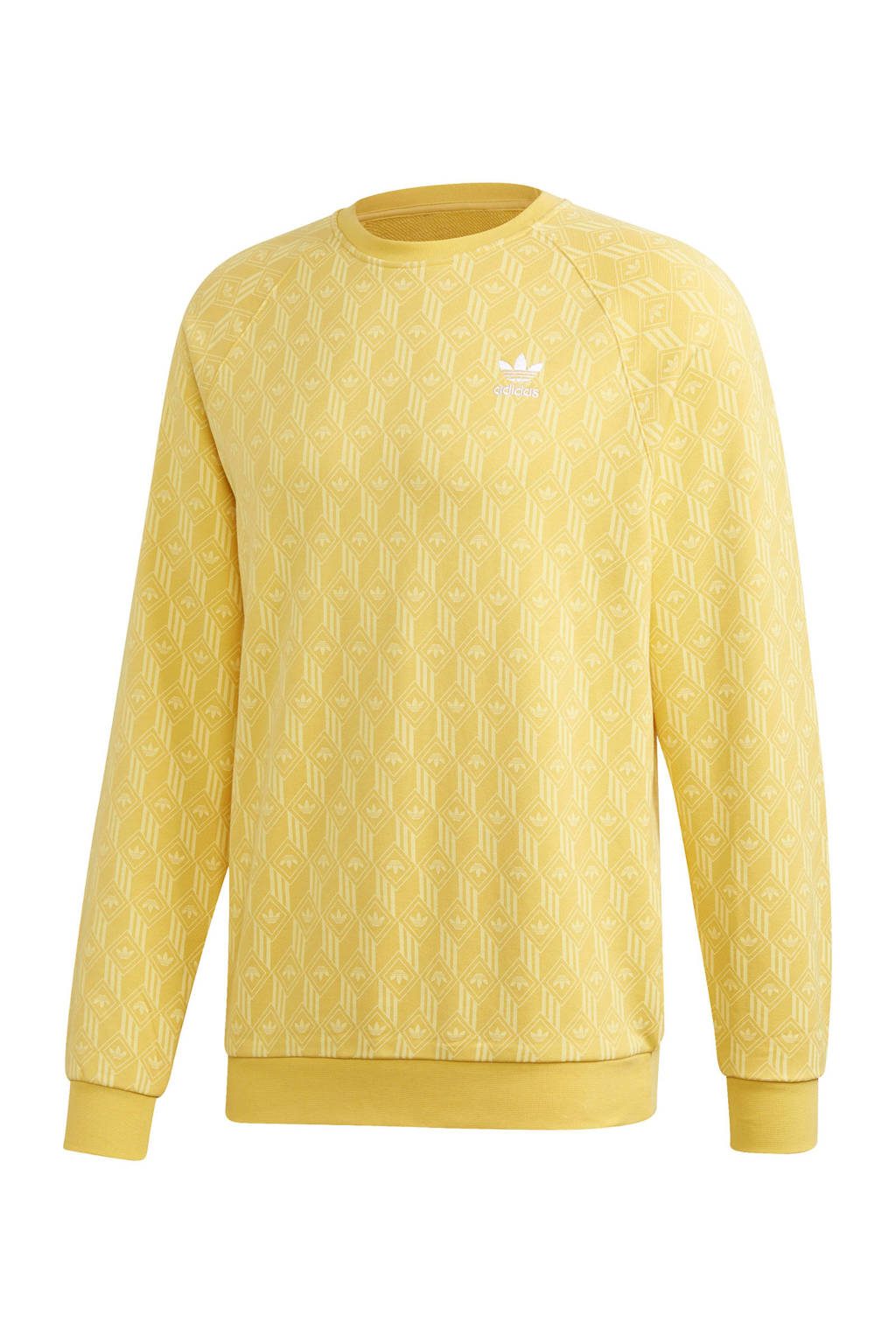 adidas Originals   sweater geel, Geel