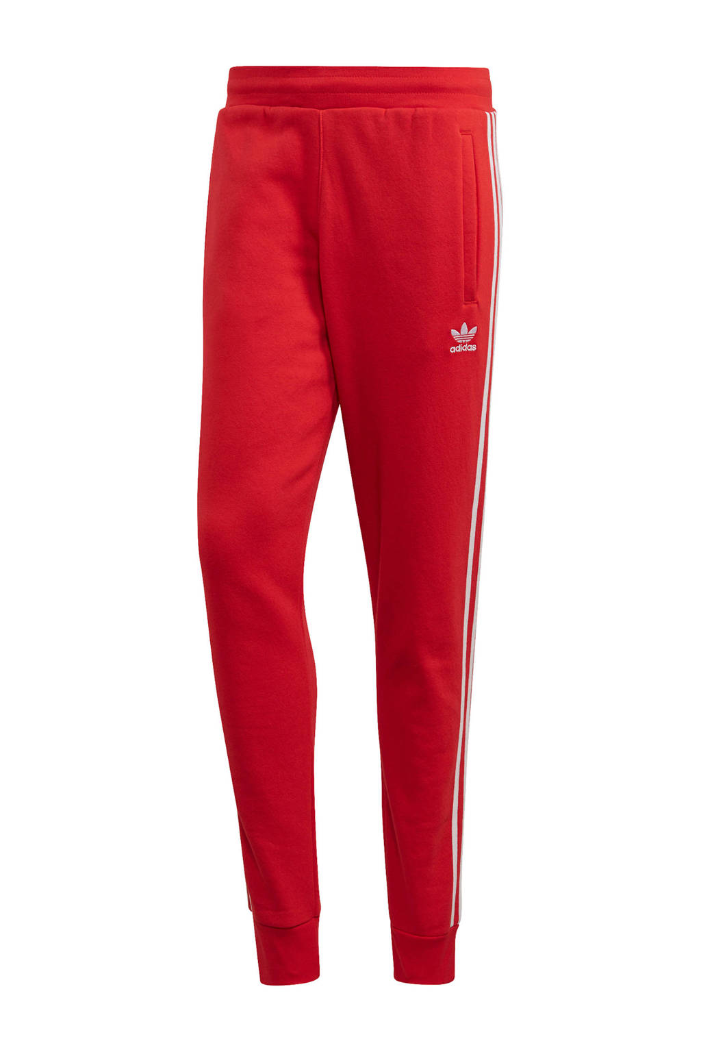 adidas Originals   joggingbroek rood, Rood
