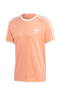 adidas Originals Adicolor T-shirt oranje/wit, Oranje