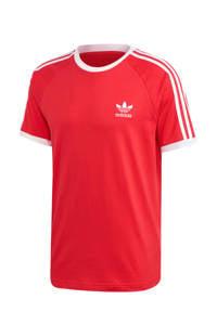 adidas Originals Adicolor T-shirt rood/wit, Rood/wit