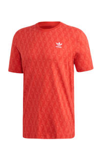 adidas Originals   T-shirt rood, Rood