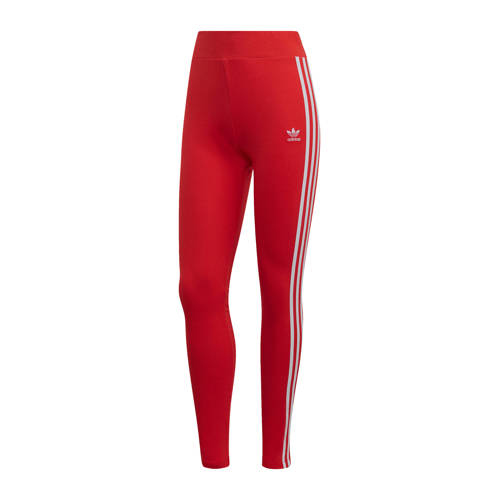 adidas originals sportbroek rood-wit