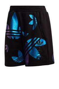 adidas Originals sweatshot zwart/metallic blauw, Zwart/metallic blauw