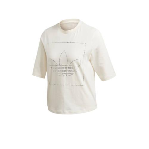 adidas Originals T-shirt ecru