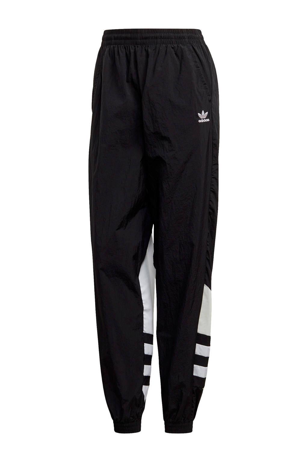 adidas Originals Adicolor sportbroek zwart/wit, Zwart/wit