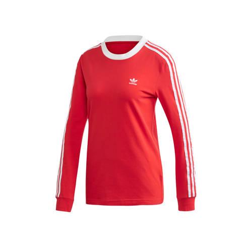 adidas originals T-shirt rood-wit