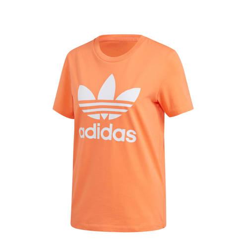 adidas Originals T-shirt oranje/wit