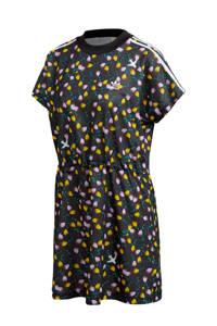 adidas Originals T-shirt jurk bloemenprint, Multi