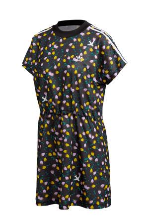 T-shirt jurk bloemenprint