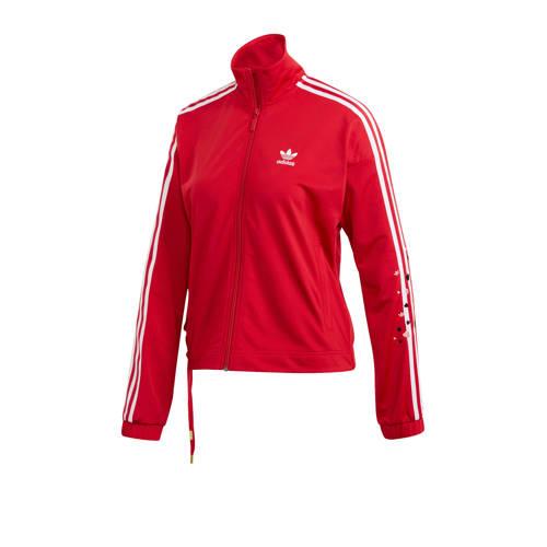 adidas originals Valentine's Day vest rood-wit