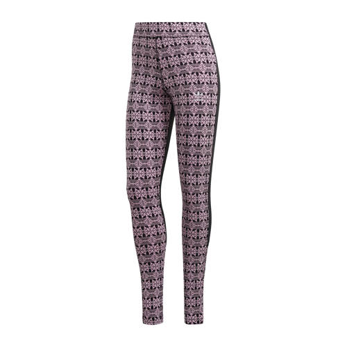 adidas Originals legging zwart/roze