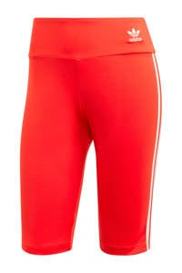 adidas Originals Adicolor cycling short rood/wit, Rood/wit