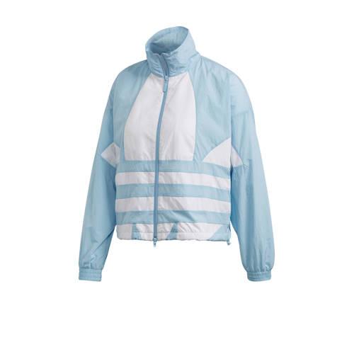 adidas Originals Adicolor sportjack blauw-wit
