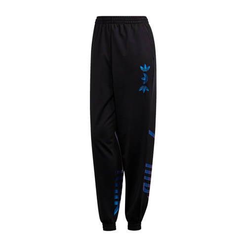 adidas Originals trainingsbroek zwart-metallic blauw
