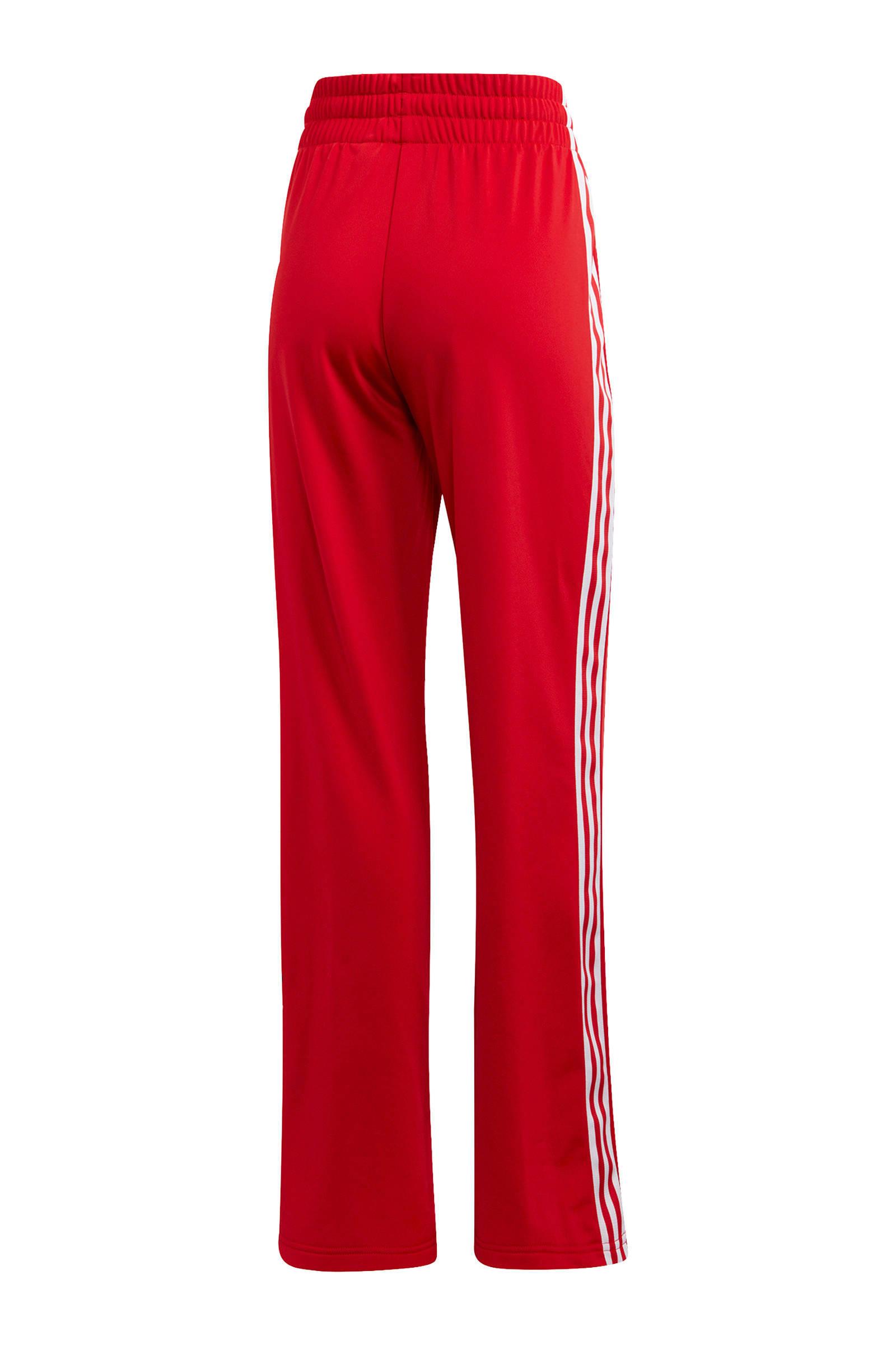 adidas Originals Valentine's Day trainingsbroek rood/wit ...