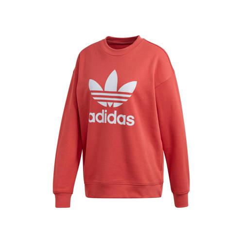 adidas Originals Adicolor sweater koraalrood