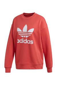 adidas Originals Adicolor sweater koraalrood, Koraalrood