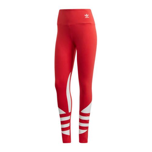 adidas originals legging rood-wit