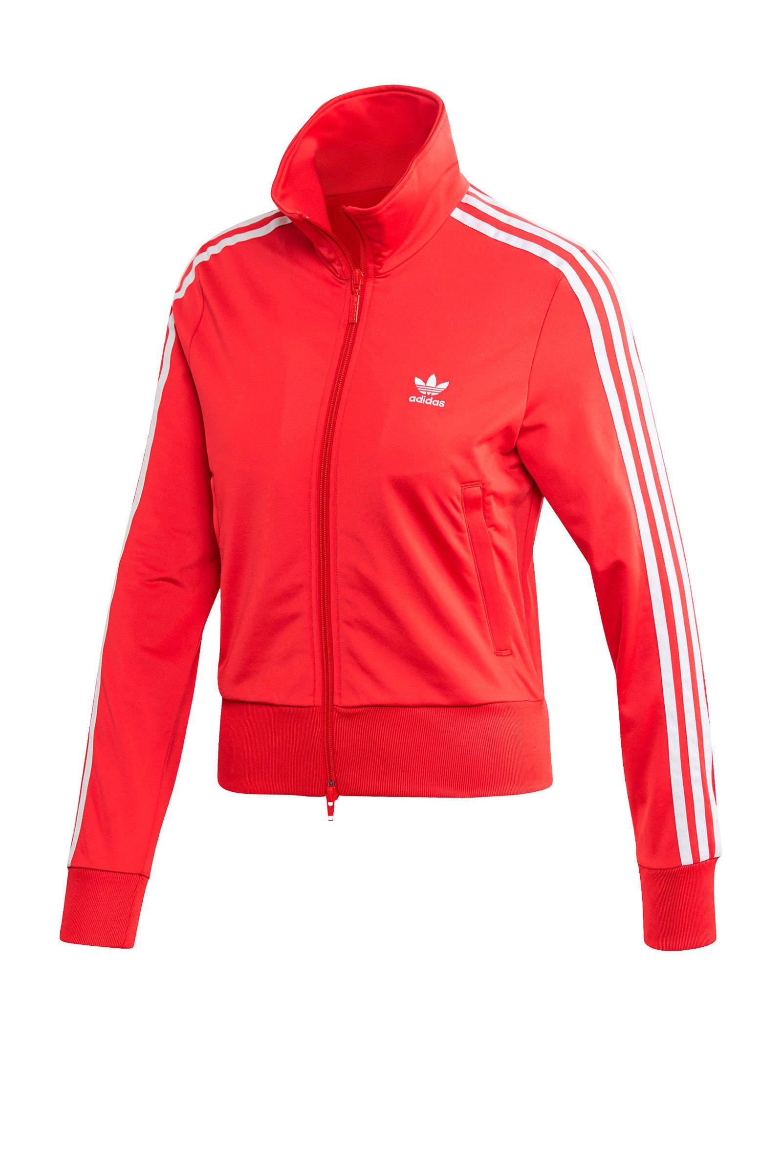 adidas Originals Adicolor vest roodwit | wehkamp