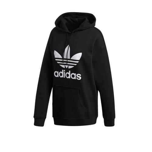 adidas originals hoodie zwart-wit