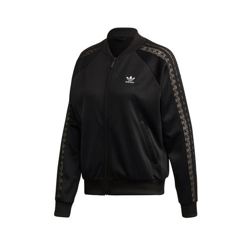 adidas Originals vest zwart-antraciet