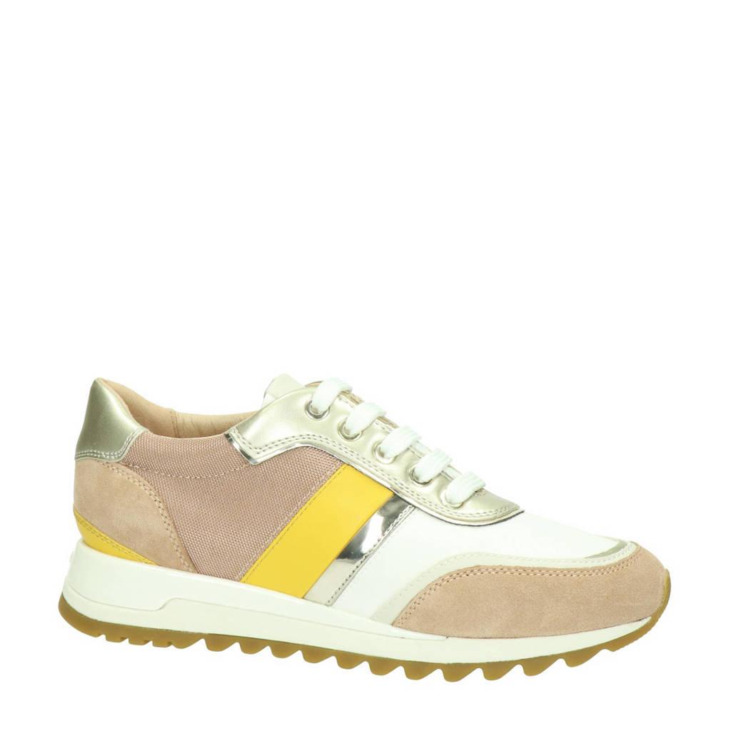 Geox Tabelya  sneakers goud/beige, Goud/Beige/Geel