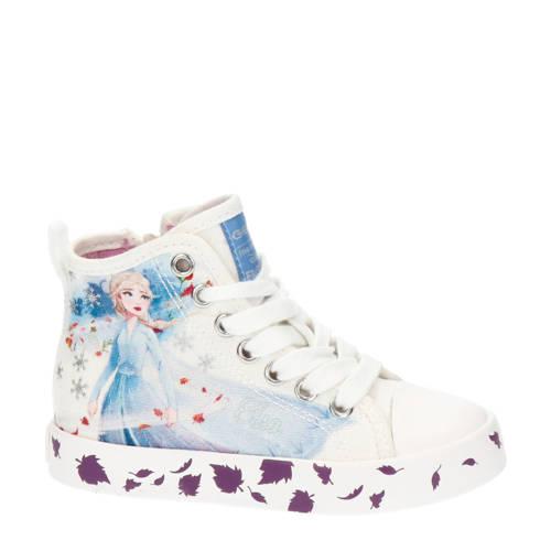 Geox J Ciak Girl Elza hoge sneakers wit
