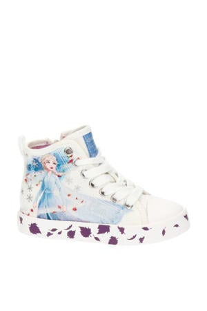 J Ciak Girl Elza hoge sneakers wit
